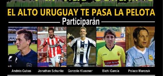 """Un """"Dream Team"""" de jugadores misioneros estará el viernes en 25 de Mayo en un partido con fines solidarios"""