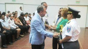 El ministro Franco presidió el acto de egreso de 22 oficiales penitenciarios