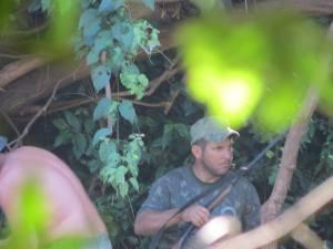Guardaparques amenazados por cazadores y pescadores furtivos en controles de rutina