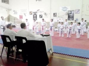 Nuevos cinturones para taekwondistas en el Centro Español