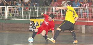 Futsal: Sacó ventaja y pinta para campeón