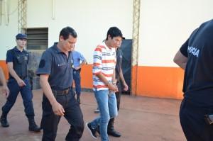 Caso Silvia Andrea: al excarcelado Willy Ríos lo recibieron con bombas de estruendo y una ovación en Campo Viera