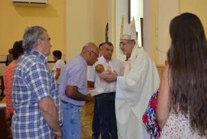 """""""En el Pesebre debemos experimentar el Amor"""", recordó el Obispo Martínez"""
