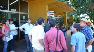 Socios miembros de la lista Blanca reclamaron frente a la CELO que asuman las nuevas autoridades electas