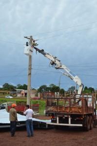 Restablecieron por completo la energía electrica en Oberá luego de la tormenta