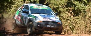 El binomio Isanbizaga-Koruñak terminó el Rally de Misiones destacándose en la segunda etapa