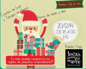 Este sábado habrá Feria Navideña en la Bajada Vieja