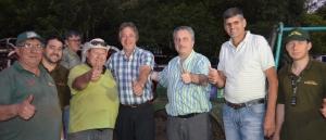 Passalacqua saludó a los participantes del Encuentro Internacional de 4x4 que se realizó en General Alvear