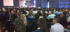 """Posadas sede del primer """"Encuentro de Jóvenes Conectados al Futuro"""", que convoca a casi mil estudiantes"""