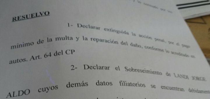 Muerte de Emy Acuña: juez avaló pago de 750 pesos de multa y no hubo juicio