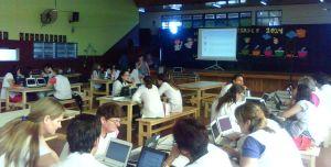 Capacitan a docentes de escuelas que cuentan con el programa Primaria Digital