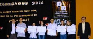 Wanda: Acto de colación de nuevos graduados en el ISTU