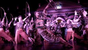 El Ballet del Centro del Conocimiento llevó su magia al centro de Posadas