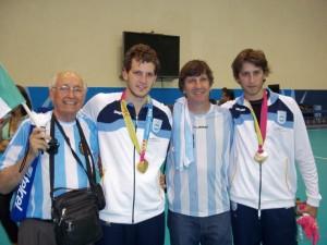 Dos misioneros al mundial de Handball en 2015