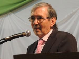 El 2014 convirtió al ingeniero Martín Gartland en el primer Profesor Emérito de la Facultad de Ciencias Forestales
