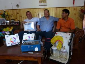 Misioneros fueron seleccionados por el catalogo Innovar 2014 por el desarrollo del nebulizador solar