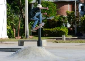 Se habilitó el Skate Park de la zona El Brete