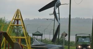 Tormenta interrumpió energía eléctrica en la estación de agua potable de Garupá