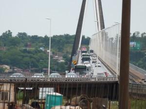 Más de 43 mil personas cruzaron el puente por la Navidad