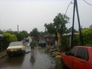La tormenta provocó serios daños al Sistema Interconectado Provincial