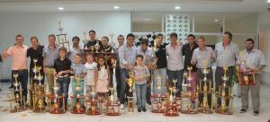 Se coronaron los campeones del Pista y Karting  2014