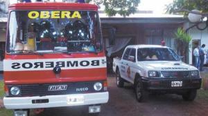 La división de bomberos de la Policía de Oberá tiene nuevo jefe