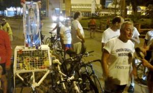 La fe viaja a Itatí en bicicleta