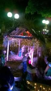 Se encendieron las luces de la Navidad en la Plaza de Posadas