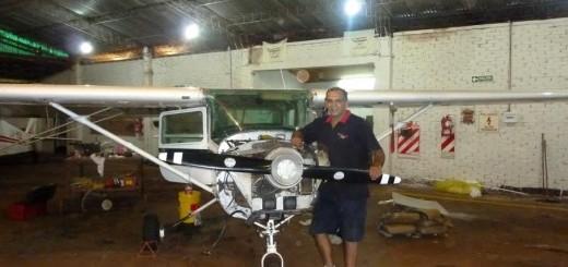 """Funciona en Eldorado """"Fly Solutions"""" el primer taller de aviones del NEA"""