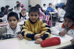 """Sileoni: """"Hay 100 mil chicos más en las escuelas por la AUH"""""""