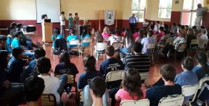 Se realizó el cierre del programa de alumnos tutores de escuelas técnicas