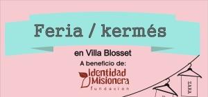 El 13 de diciembre habrá Feria y Kermés en Villa Blosset