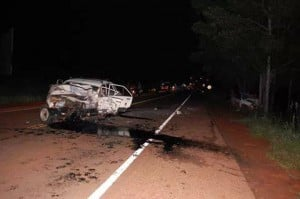 Un hombre y un niño murieron ayer en un accidente de tránsito en San Javier