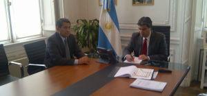 Orlando Franco se reunió con Capitanich para impulsar el GIRSU