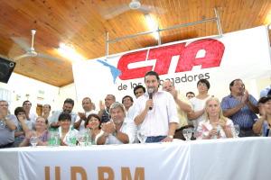 Rubén Caballero asumió al frente de la CTA de los Trabajadores en Misiones