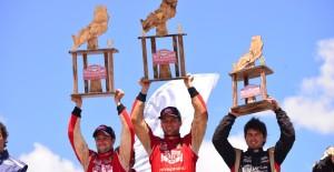 """El peruano Nicolás Fuchs ganó el Rally de Misiones; Nalbandian abandonó y el """"Piojo"""" salió sexto"""