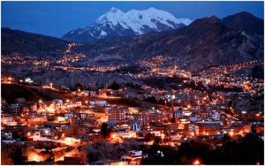 Bolivia: el presidente Evo Morales pidió el voto para que La Paz sea una de las 7 Ciudades Maravilla del Mundo