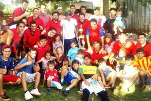 """Fútbol amateur: """"Los Pilinchos"""" obtuvo su tercer campeonato en El Brete"""