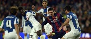 Con tres goles, Messi fue figura en el triunfo del Barcelona