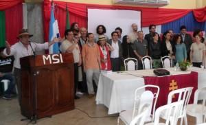 Artistas misioneros participaron de la Muestra de Arte en San Ignacio Guazú