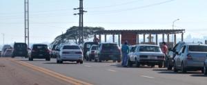 La cola para cruzar a Paraguay llega hasta el puente El Zaimán