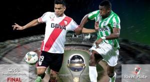 River va por la Sudamericana ante Atlético Nacional para tratar de ganar un título internacional después de 17 años