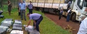Se quedaron empantanados con cuatro toneladas de marihuana en Leandro N. Alem: hay cinco detenidos