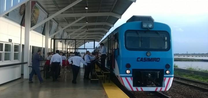 Ya está en marcha el servicio del tren internacional entre Posadas y Encarnación