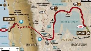 Dakar, día 8: por primera vez, tres carreras en tres caminos distintos