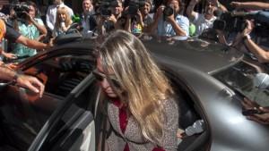 La ex mujer de Nisman declaró durante más de ocho horas