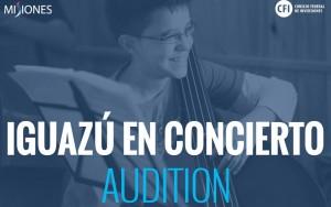 El domingo 1 de febrero comienza la IV edición del Iguazú en Concierto Audition