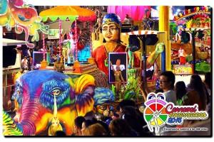 Se realizó el segundo fin de semana de carnavales en Encarnación