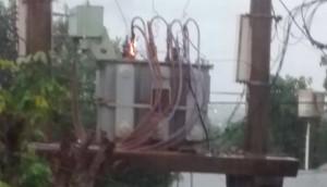 Se incendió un transformador en el barrio A4 que estuvo sin luz durante algunas horas ayer