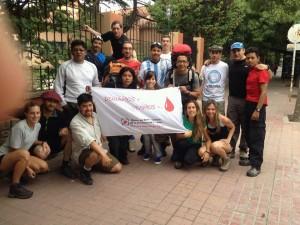 Misionera participa de Expedición Aconcagua, promocionando la donación de sangre